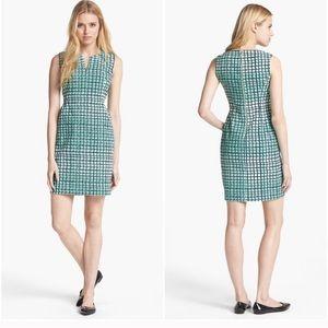 Kate Spade Samantha Sheath Sleeveless Check Dress